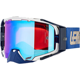 Leatt Velocity 6.5 Iriz Anti Fog Mirror Goggles, royal blue